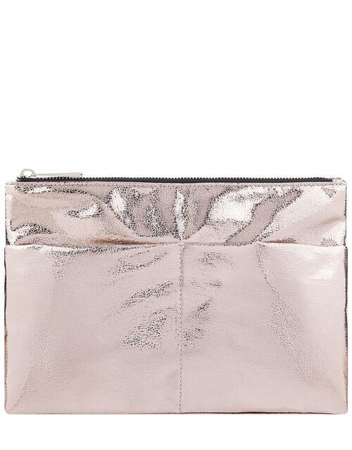 Metallic Gym Wash Bag, , large