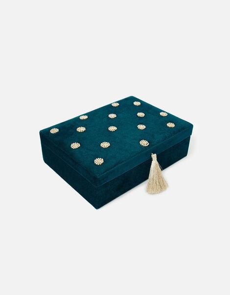 Large Polka Dot Jewellery Box, , large
