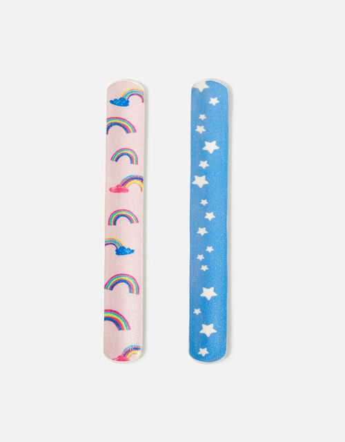 Rainbow and Unicorn Snap Band Set, , large