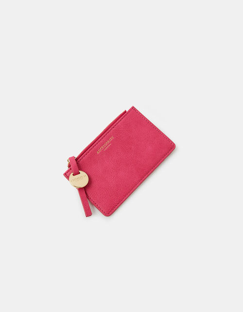 Shoreditch Card Holder with Charm, Pink (FUCHSIA), large