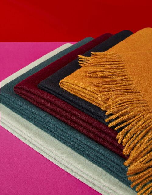 Holly Super-Soft Blanket Scarf Burgundy, , large