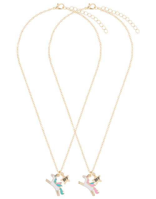 Unicorn Best Friend Necklace Set, , large