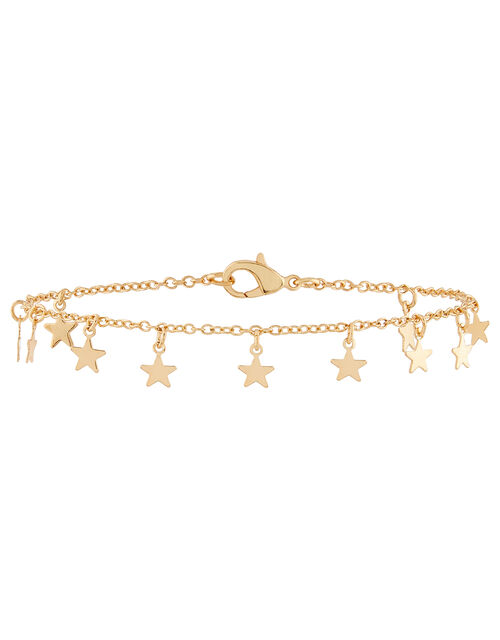 Mini Star Charm Anklet, , large