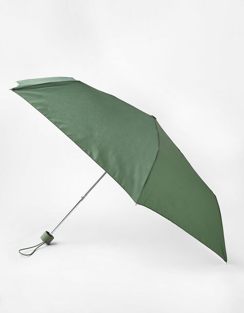 Plain Umbrella, Green (KHAKI), large