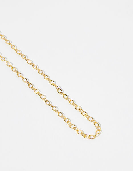Gold Vermeil Paperclip Chain Necklace, , large