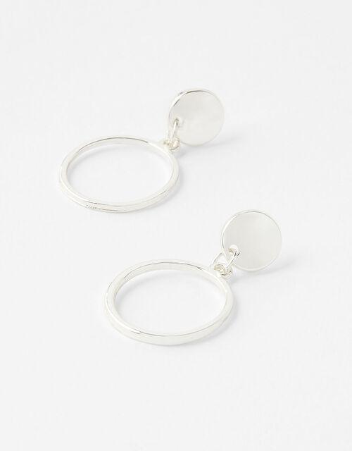 Simple Doorknocker Earrings, , large