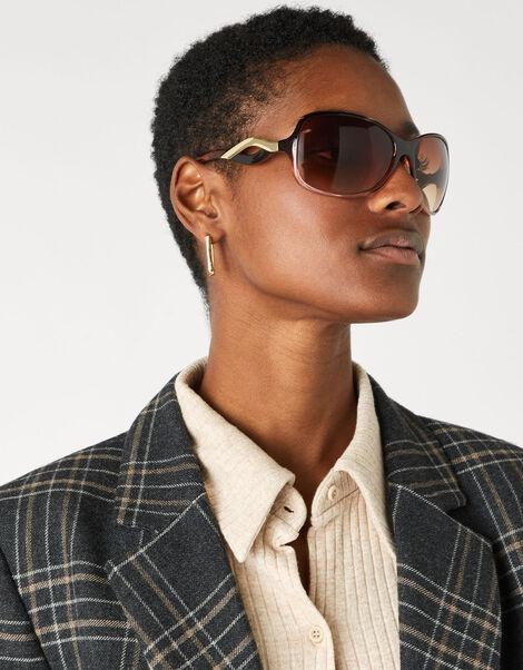 Wendy Wavy Arm Sunglasses, , large