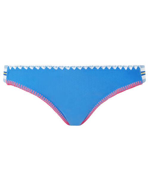 Positano Colourful Bikini Briefs, Blue (AQUA), large