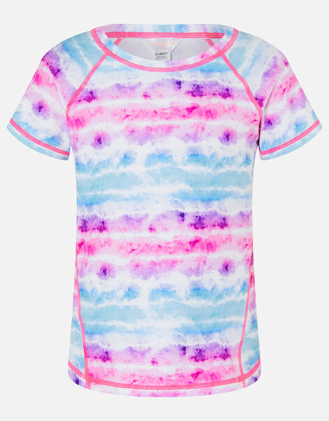 Tie Dye Active T-Shirt Multi, Multi (BRIGHTS-MULTI), large