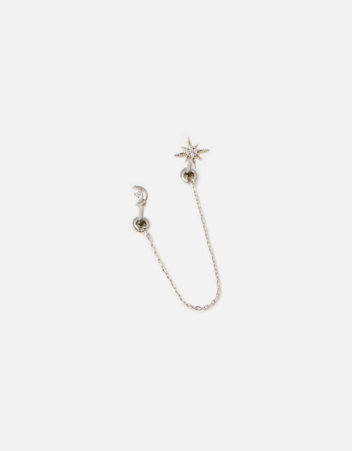 Sparkle Star Linked Flat-Back Studs, , large