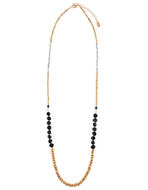 Mixed Bead Long Necklace, , large