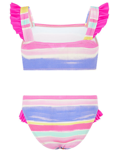 Seersucker Stripe Bikini Set Multi, Multi (BRIGHTS-MULTI), large