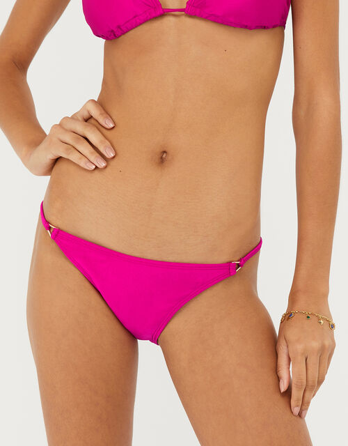 Tie-Side Bikini Briefs, Pink (PINK), large