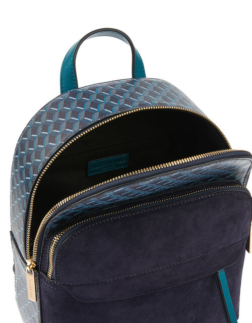 Geo Print Backpack, , large