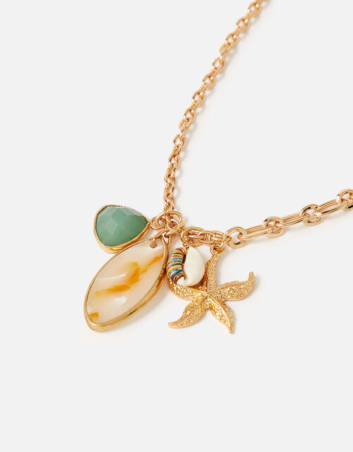 Island Vibes Charmy Pendant Necklace, , large