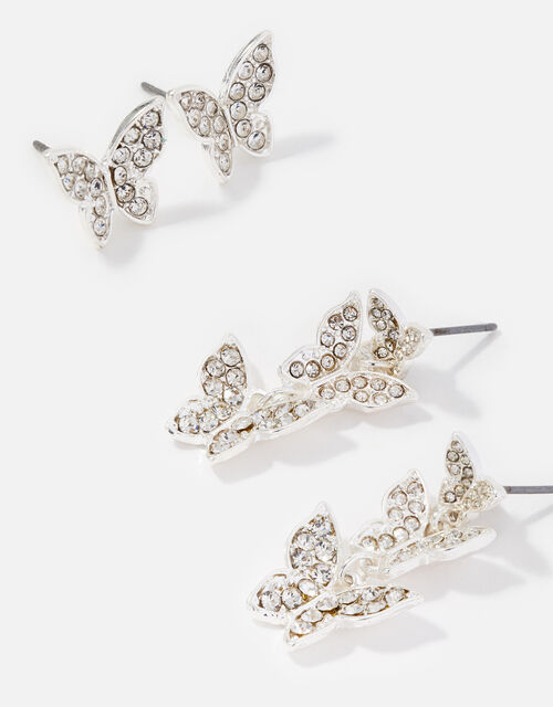 New Decadence Butterfly Earring Twinset, , large