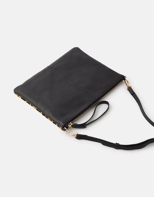 Carmela Leopard Clutch Bag, , large