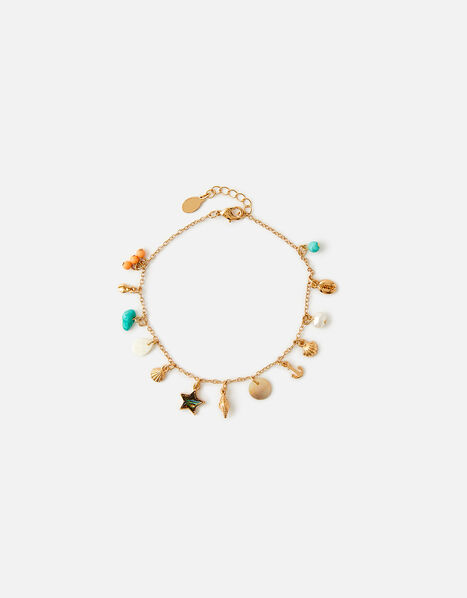 By the Sea Charmy Anklet , , large