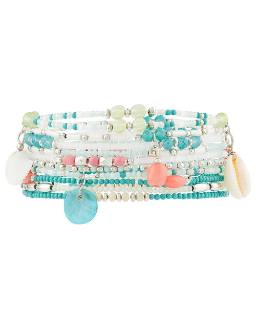 Melrose Shell and Bead Bracelet Set, , large