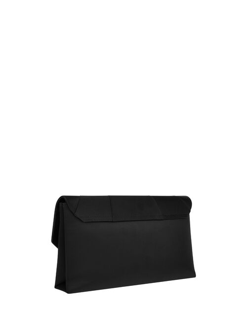 Louise Satin Clutch Bag, , large