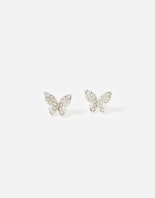 New Decadence Butterfly Studs, , large