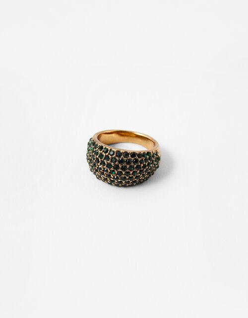 Portofino Chunky Gem Ring, Green (GREEN), large