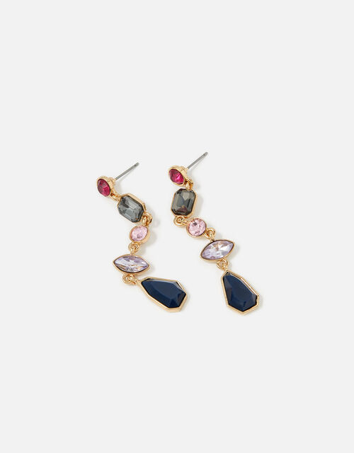 New Decadence Eclectic Stone Drop Earrings, , large