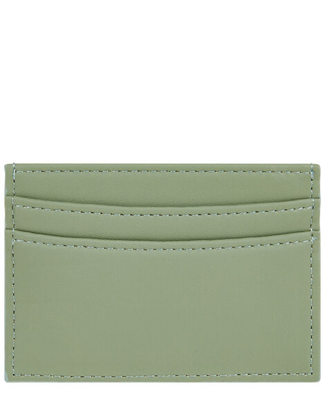 Embroidered Rainbow Cardholder Green, Green (GREEN), large