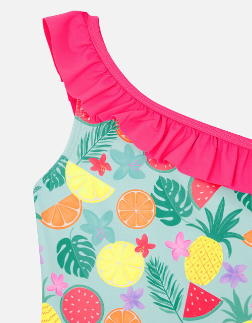 Fruit Print Swimsuit, Multi (BRIGHTS-MULTI), large
