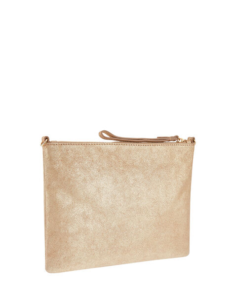 Claudia Leather Cross Body Bag, , large