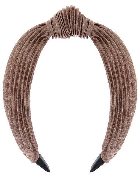 Wide Alice Hair Band Metalic, Metalic (METALLICS), large