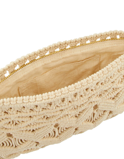 Macrame Pouch Bag, , large