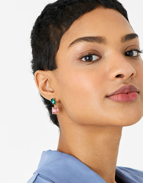 Kylie Colour Pop Drop Earrings , , large