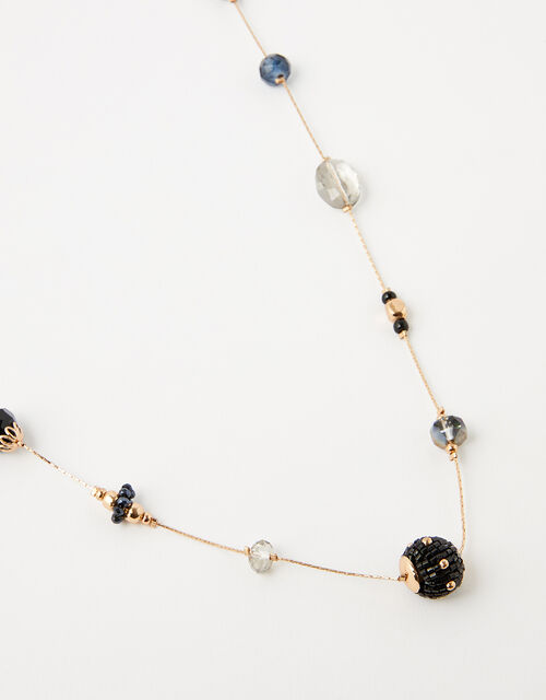 Beaded Rope Necklace, , large