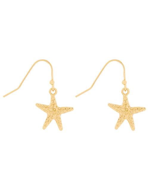 Starfish Short Drop Earrings, , large