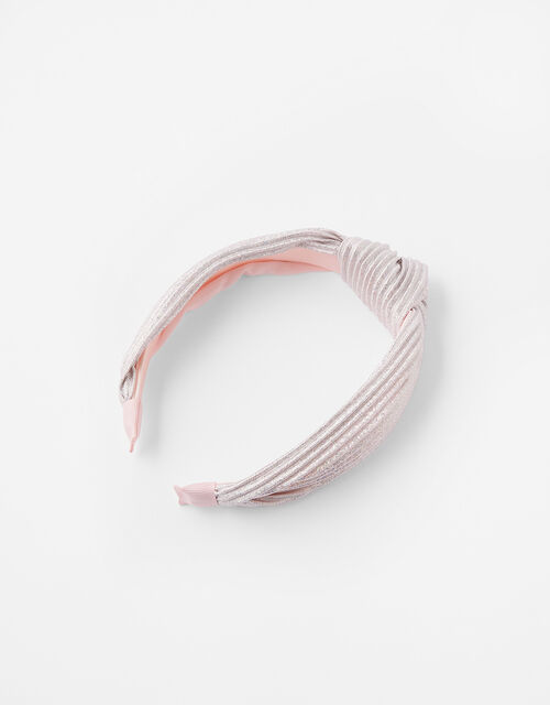 Shimmer Knot Headband, , large