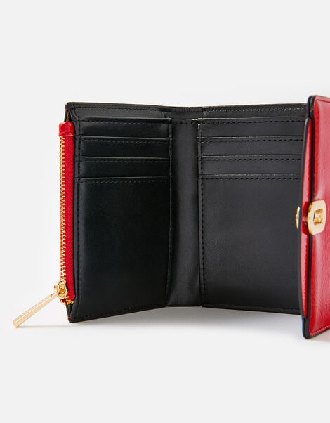 Patent Lock Purse Red, Red (RED), large