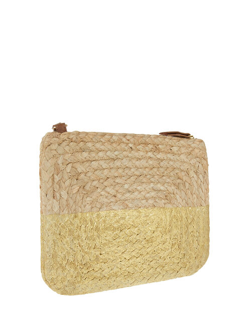 Sarah Metallic Rope Cross-Body Bag, , large