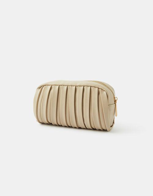 Pleated Makeup Bag, , large