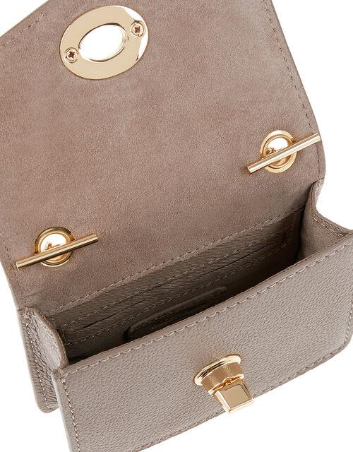 Clara Cross-Body Bag, Mink (MINK), large