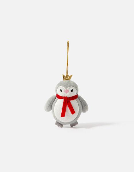 Kids Penguin Christmas Hanging Decoration, , large