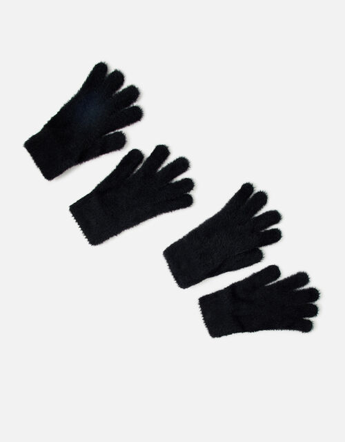Stretch Fluffy Glove Twinset, , large