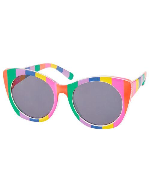 Rainbow Stripe Sunglasses, , large