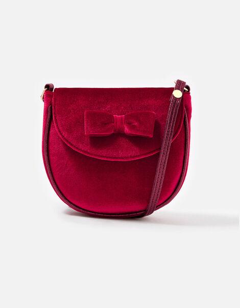 Velvet Bow Bag , , large