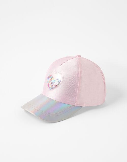 Shell Shimmer Baseball Cap, Pink (PINK), large