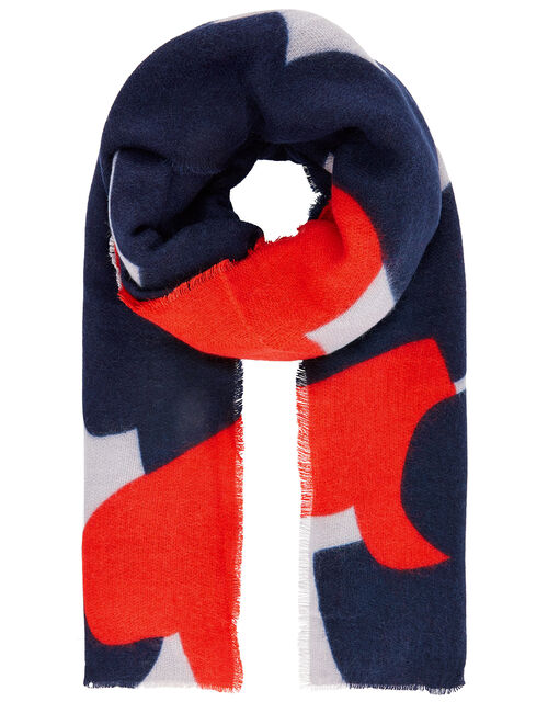 Heart-to-Heart Blanket Scarf, , large
