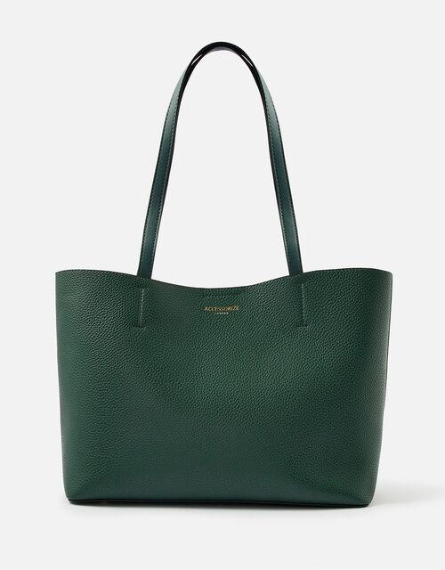 Leo Tote Bag, Green (GREEN), large