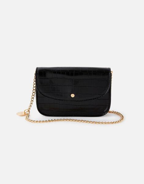 Mini Purse Cross-Body Bag  Black, Black (BLACK), large