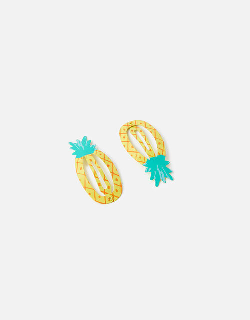Pineapple Hair Clips, , large