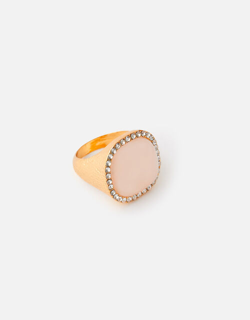 Sparkle Stone Chunky Ring, Pink (PINK), large